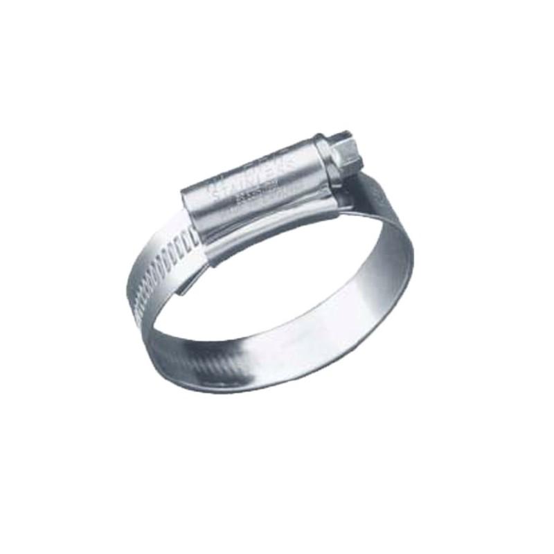 Collier de serrage en inox 25x40 mm poisson d 39 or sa - Collier serrage inox ...