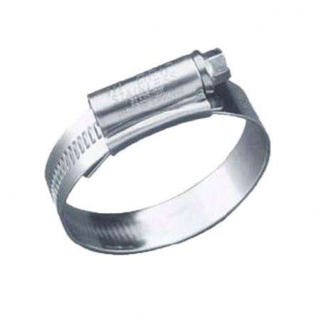 Collier de serrage en inox 32x50 mm poisson d 39 or sa - Collier serrage inox ...