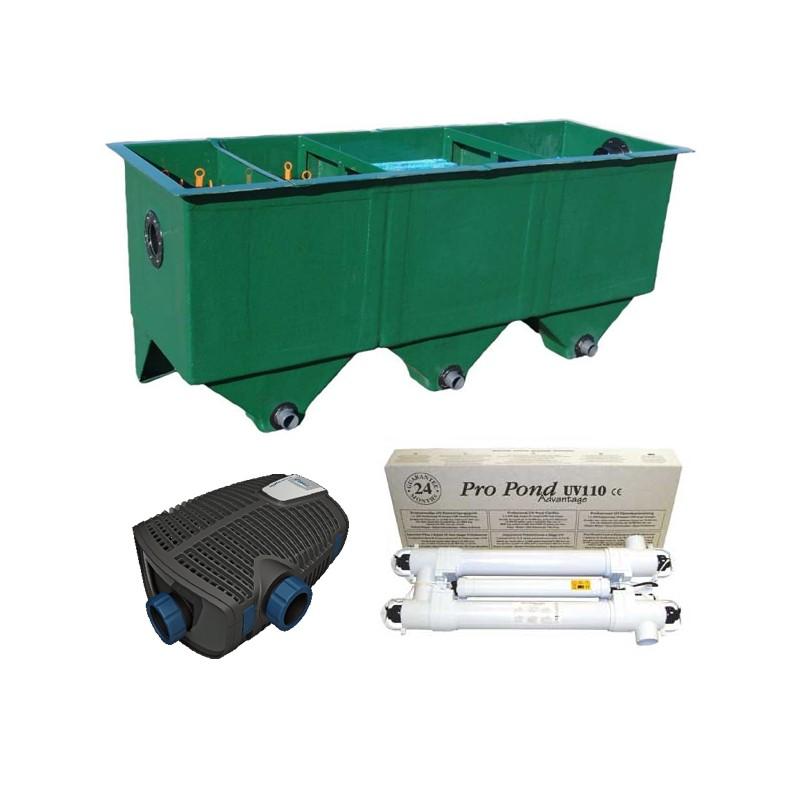 kit de filtration n 9 pour bassin poisson d 39 or sa. Black Bedroom Furniture Sets. Home Design Ideas