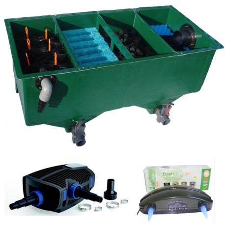 Kit de filtration n 13 pour bassin poisson d 39 or sa for Kit bache pour bassin