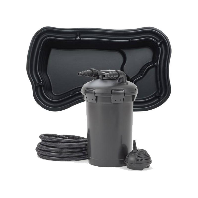 kit de filtration bassin pr form 1000 litres poisson d. Black Bedroom Furniture Sets. Home Design Ideas