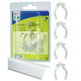 Juwel clips reflecteur T8 plastique (par 4)