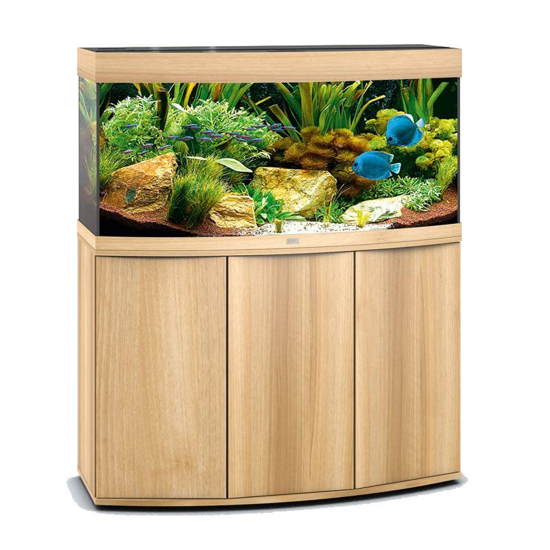 juwel aquarium rio 350 line v led light wood avec meuble avec portes poisson d 39 or sa. Black Bedroom Furniture Sets. Home Design Ideas