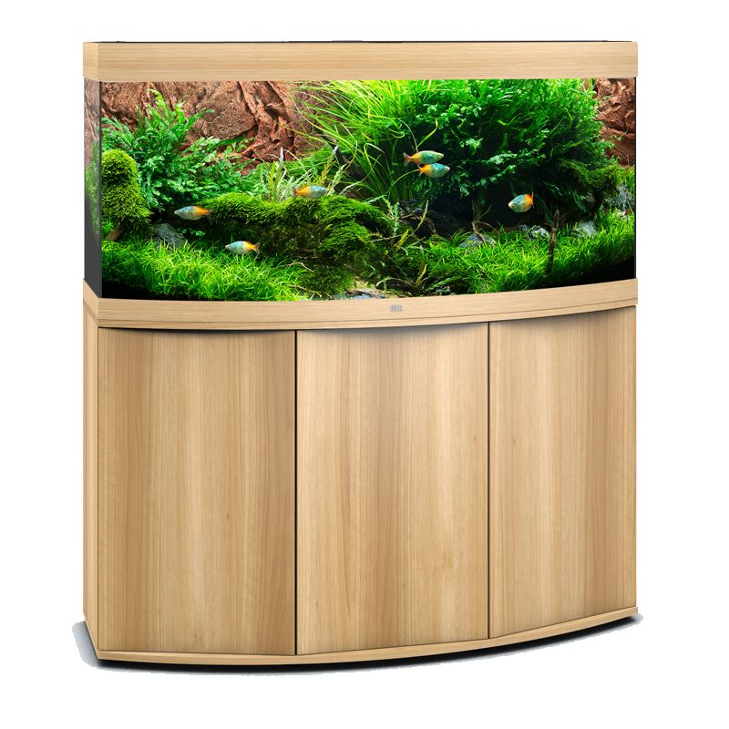 juwel aquarium vision 450 line led ligh wood avec meuble avec portes poisson d 39 or sa. Black Bedroom Furniture Sets. Home Design Ideas