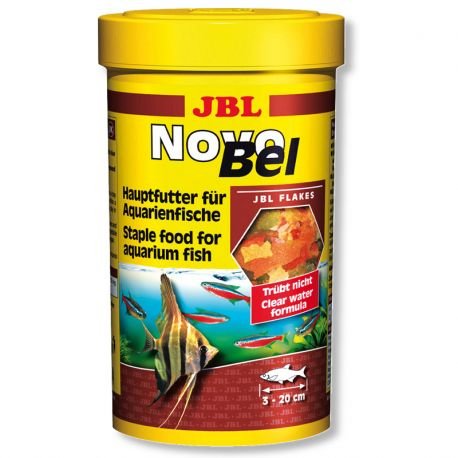 Jbl nourriture novobel 1 litre recharge offerte 750ml for Jbl nourriture poisson