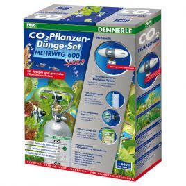 Dennerle set CO2 de fertilisation des plantes REUTILISABLE 600 Space