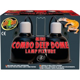zoomed support mini combo deep dome 2x100w