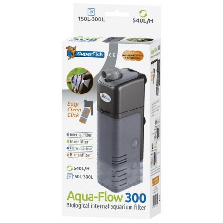Sf aquaflow 300 filtre 500l h poisson d 39 or sa for Bac a poisson 500l